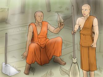Sweep and feel The Dharma by VachalenXEON