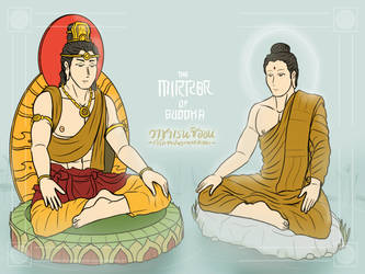 The mirror of Buddha by VachalenXEON