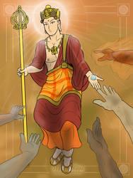 Ksitigarbha - Maha Naraka by VachalenXEON