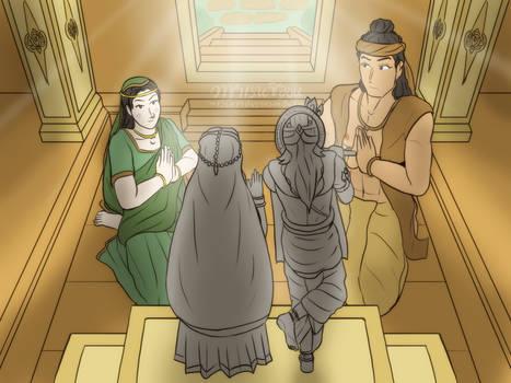Into The Vrindavan shrine