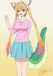 Tohru Dragon Maid (Casual Outfit) by PrismaCube