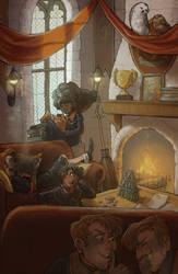 Gryffindor Pranks by allyssinian