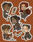 Marauders Stickers