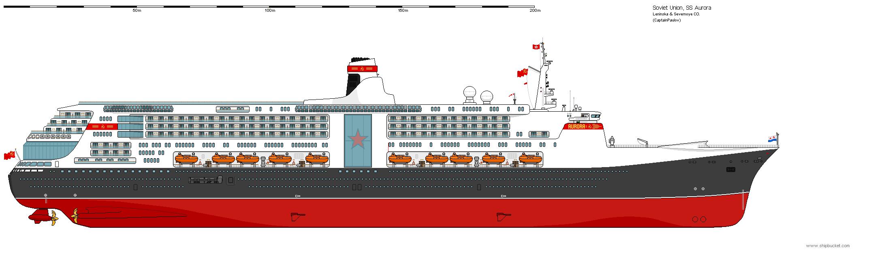 AU Modern Soviet Ocean Liner WiP 3