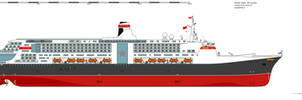 Concept Sovjet Ocean Liner Aurora
