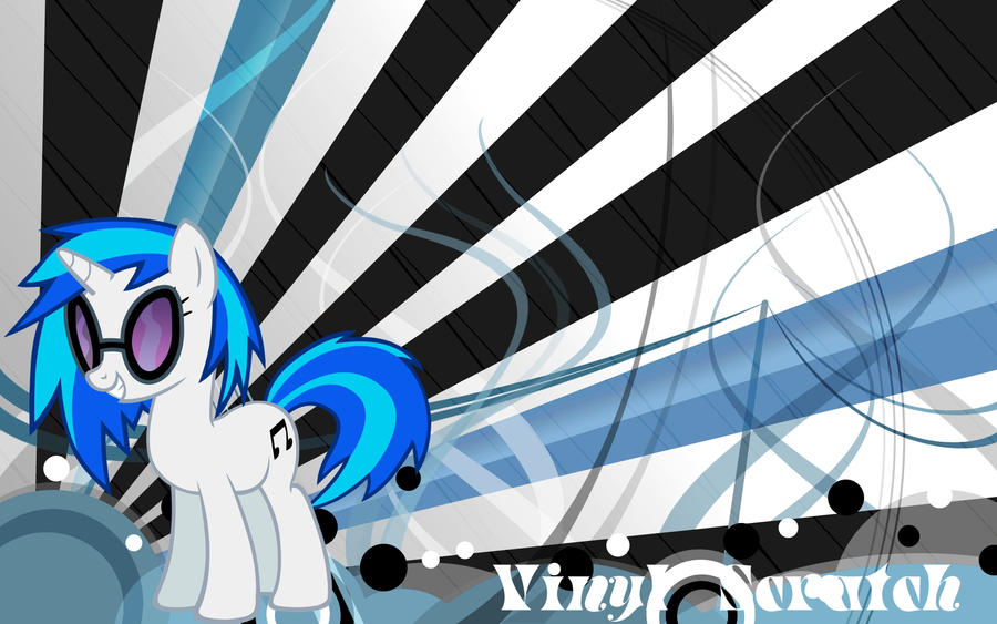 Vinyl Scratch Wallpaper By: TizNarniaz2 by TizNarniaz2