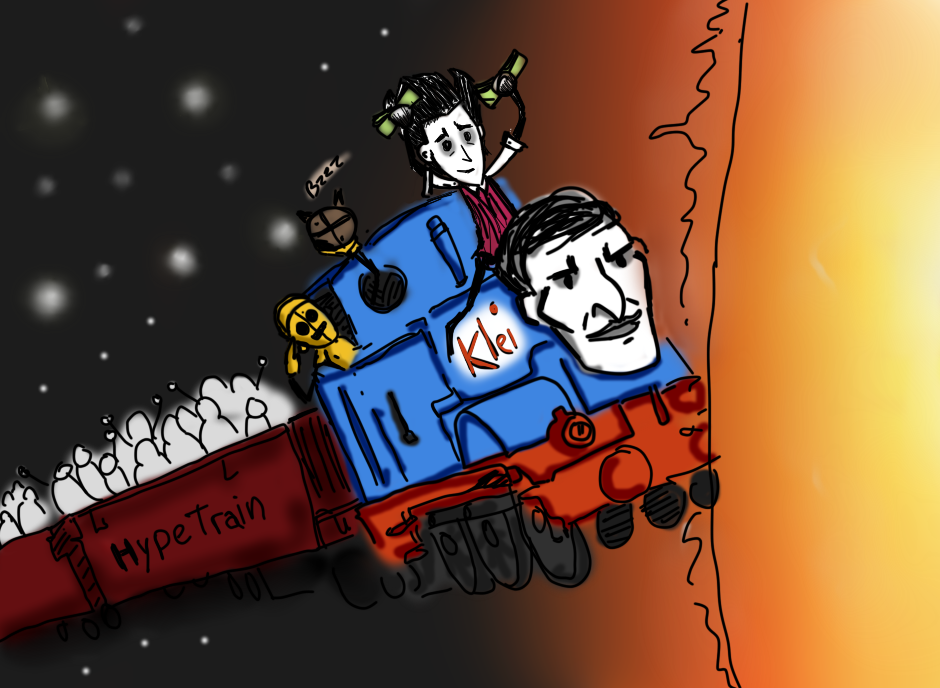 Image result for don't starve together hype train