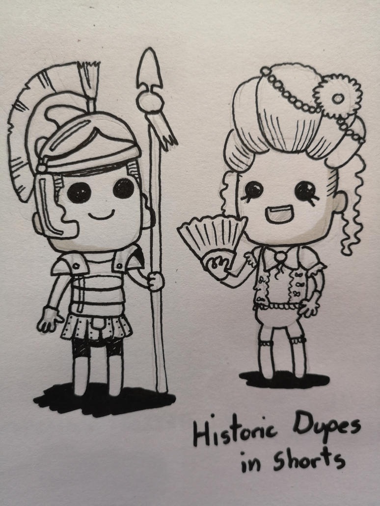 historic_dupes_in_shorts_by_milleniumcou