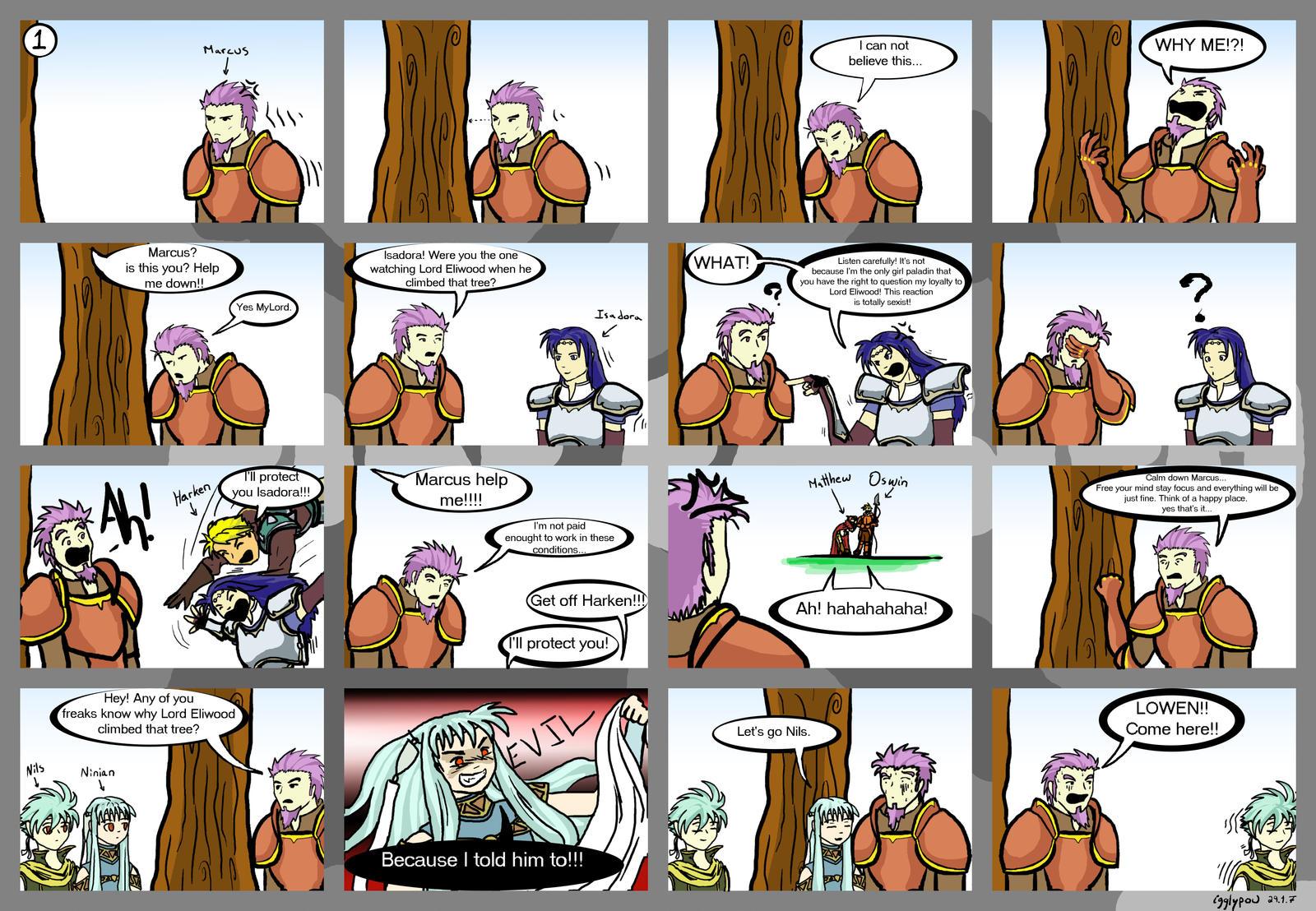 Flo' classe... Les Chapitres de Fire Emblem Seven Marcus_vs_the_TREE_round_1_by_igglypou