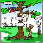 Marcus vs the Tree round 2