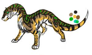 tigerdillo design by Devildart