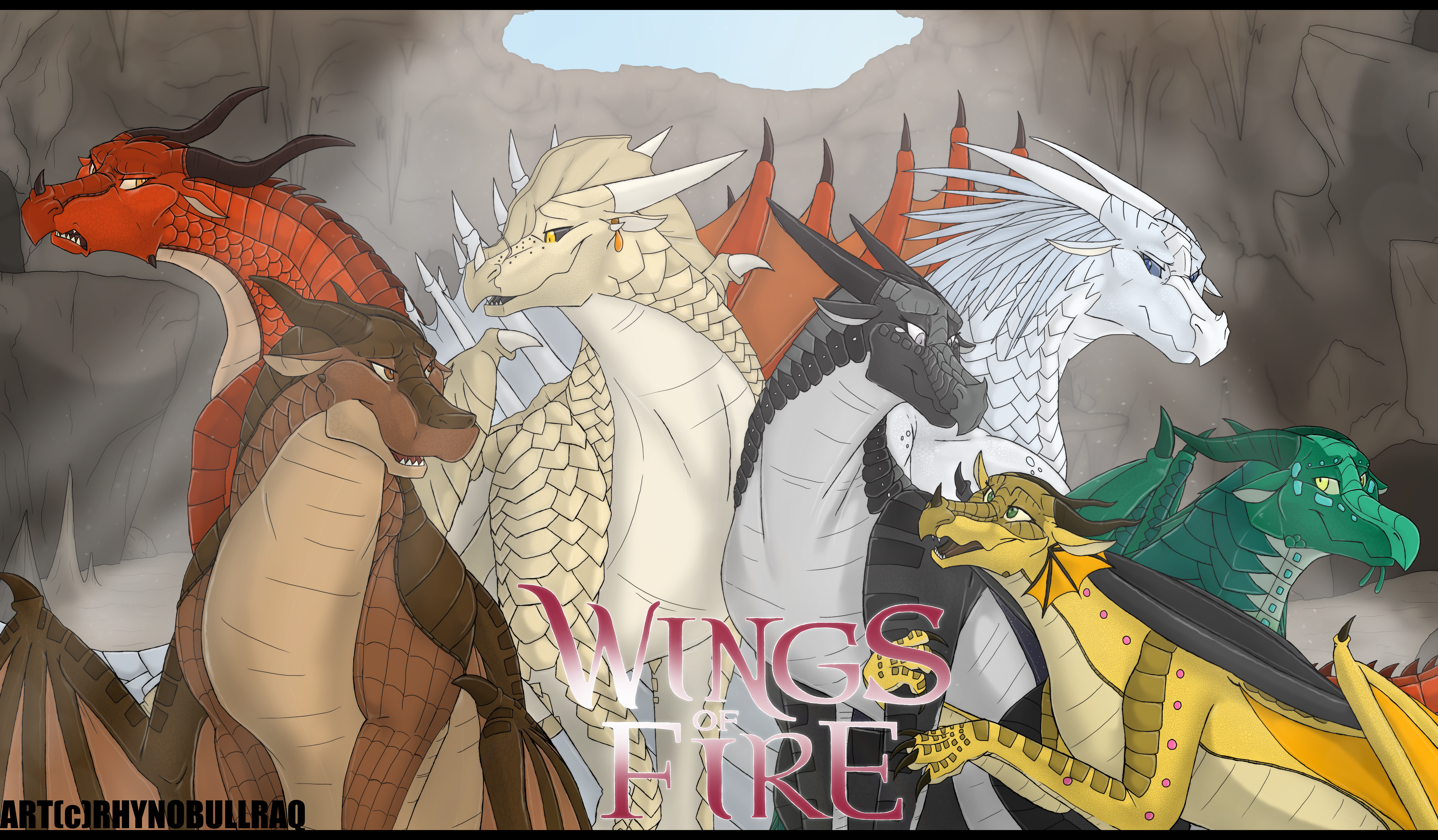 wings of fire as humans anime - HD8234×4812