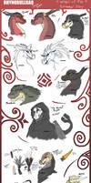 Eranomous' Story Sketch Dump Spoilers by RhynoBullraq