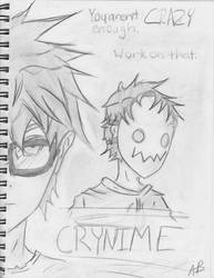 Crynime Poster by dftba42