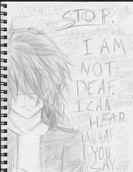 Leave Me Alone by dftba42
