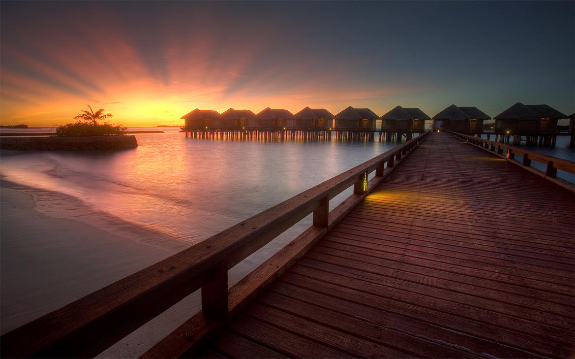 Maldives - Spokes by hazmee