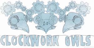 Clockwork Owls Band Logo