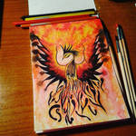 Phoenix Bird by LauraLalart