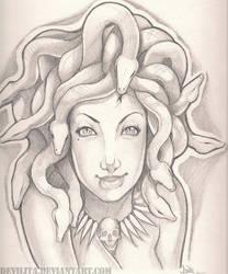 Medusa by JENJYart