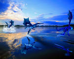 Blue Dragon Paradise by ForeverBigBlue68