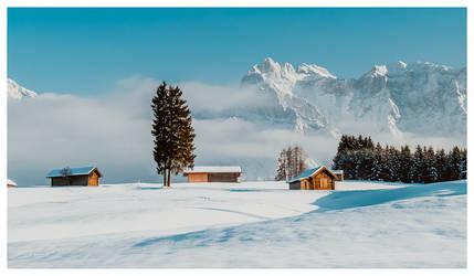 Buckelwiesen bei Klais (2015) Winter Wonderland by photoshoptalent
