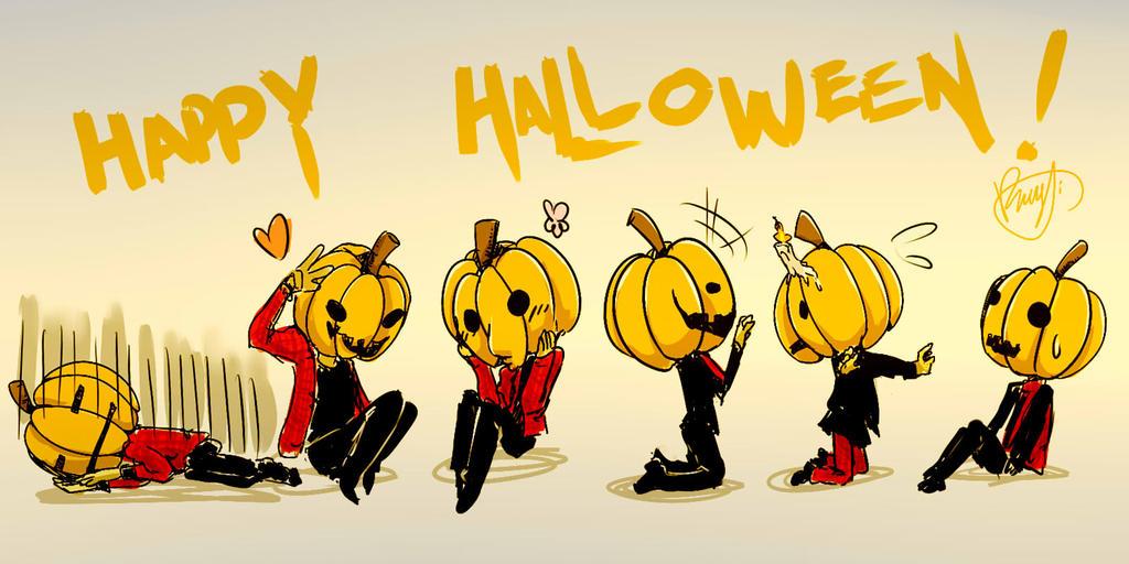 Halloween by theredscythe
