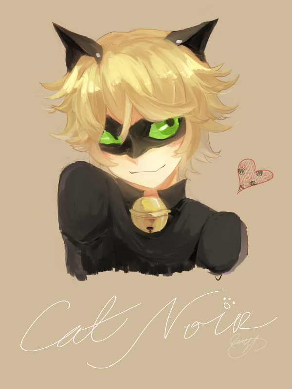 Cat noir by theredscythe