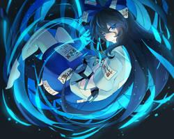 Shion Yorigami by theredscythe