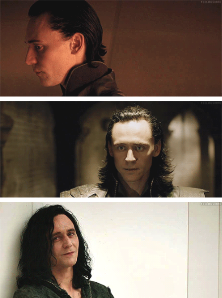 evolution of loki's hair !!!! by Grimmynette