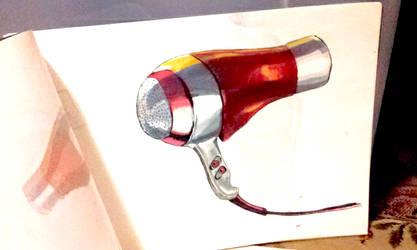 Hairdryer Illust by kiefers24