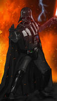 Star Wars: Darth Vader reigns by KnightOfRen411