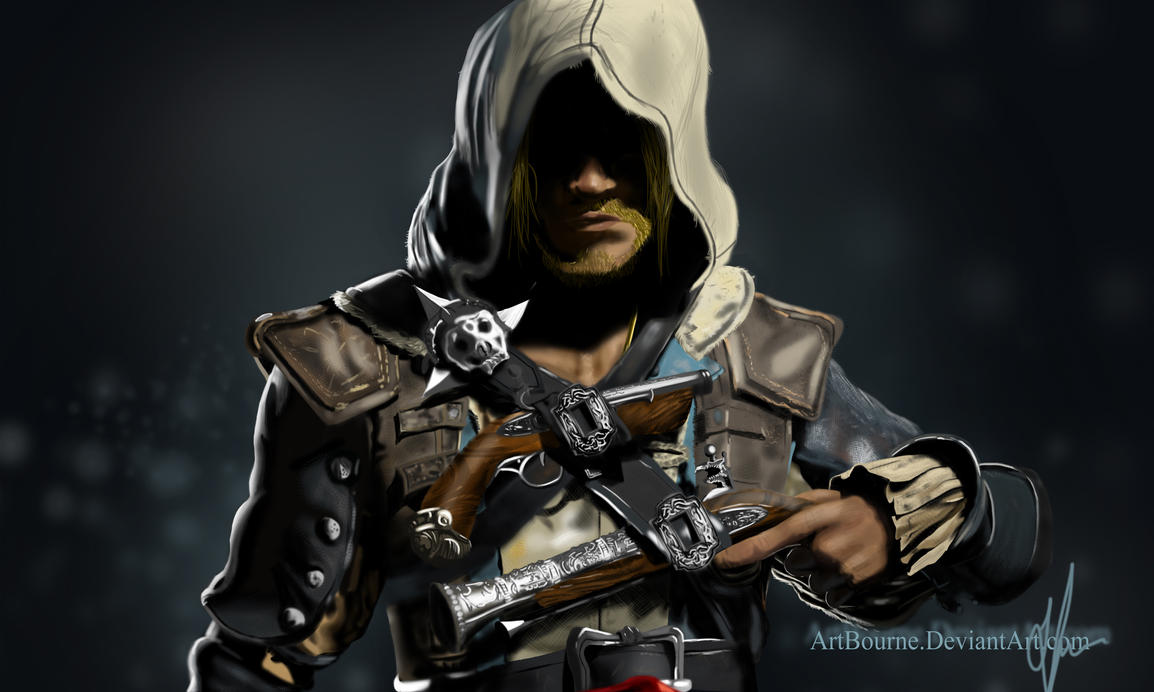 Edward Kenway (Assassin's Creed 4: Black Flag) by ArtBourne