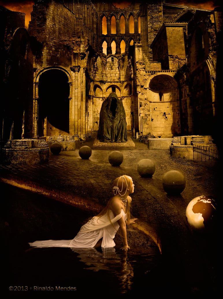 Priestess of Aphrodite by rgmendes