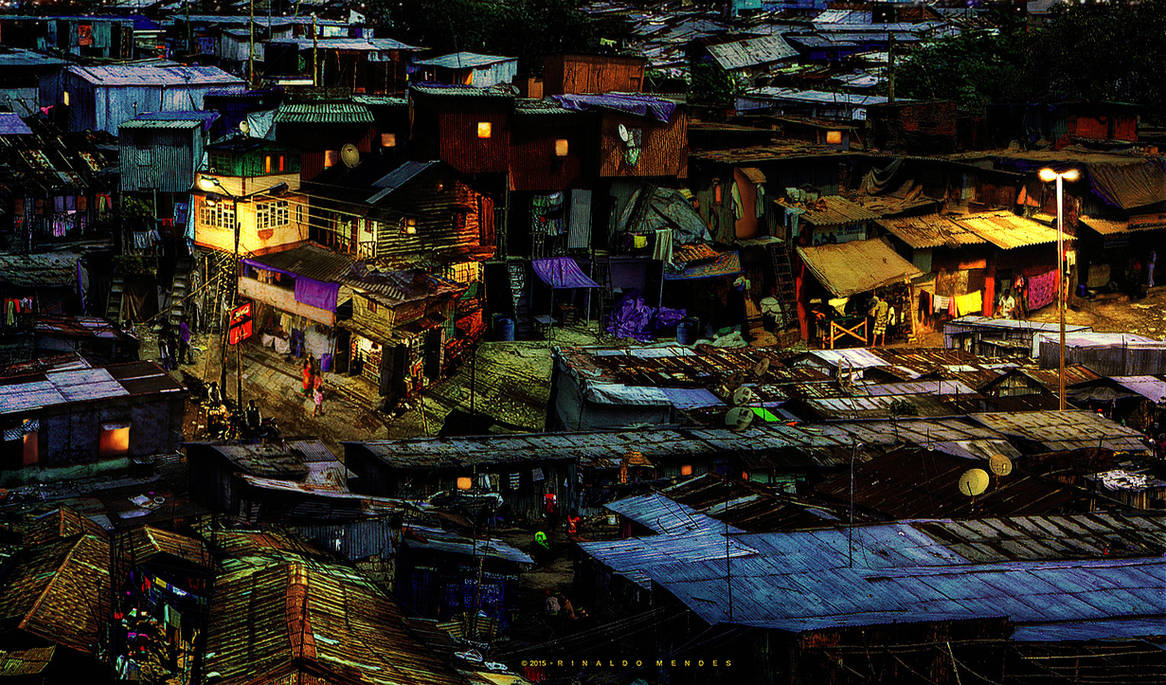 The Ghetto at Night