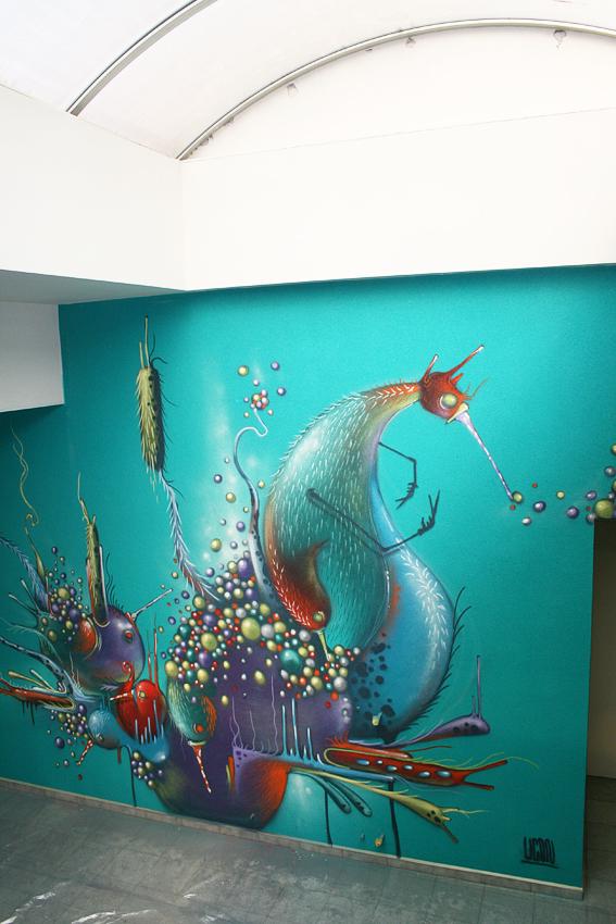 Turquoise flip by uconique