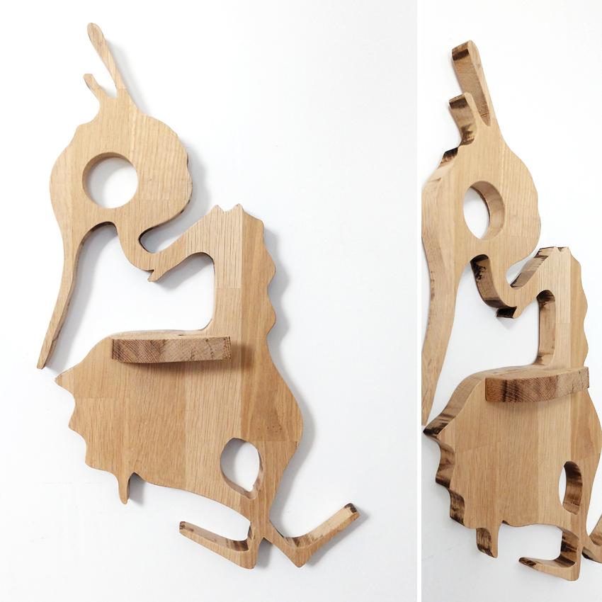 oak interior sculpture by uconique