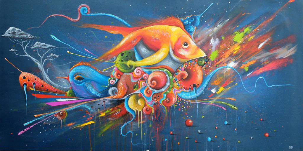 Goldfish by uconique