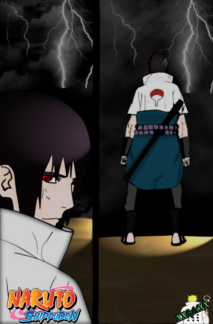 Sasuke manga 573 by XByOnilX