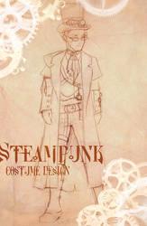 Steampunk Costume Male