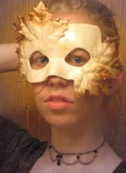 Autumn Half mask