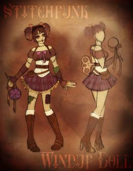 Stitchpunk Windup Doll Costume