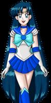 Sailor Mercury With Long Hair 2021
