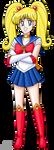 Minako As Sailor Moon by PerryWhite