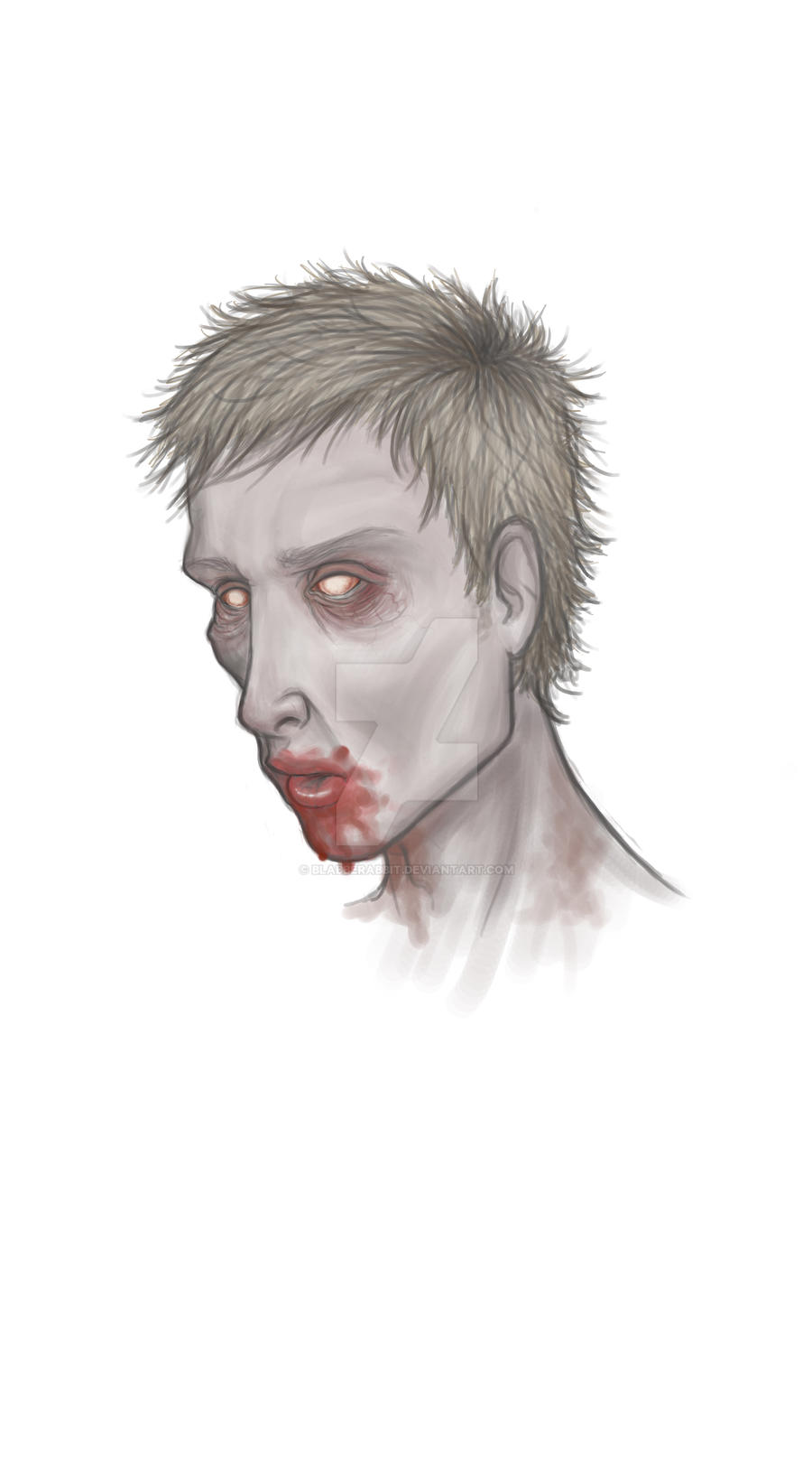 Xenith the Zombie by blabberabbit