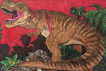 Jurassic Park- Rexy/Roberta the Tyrannosaurus Rex