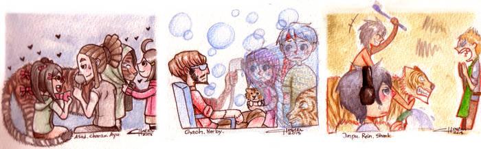 CR: SIALLLL sambil mandiin macan