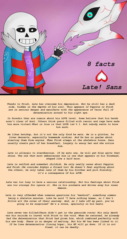 8 facts (Late Sans) by MuskyCat90 on DeviantArt