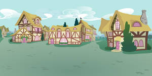 pony ville outskirts by matty4z