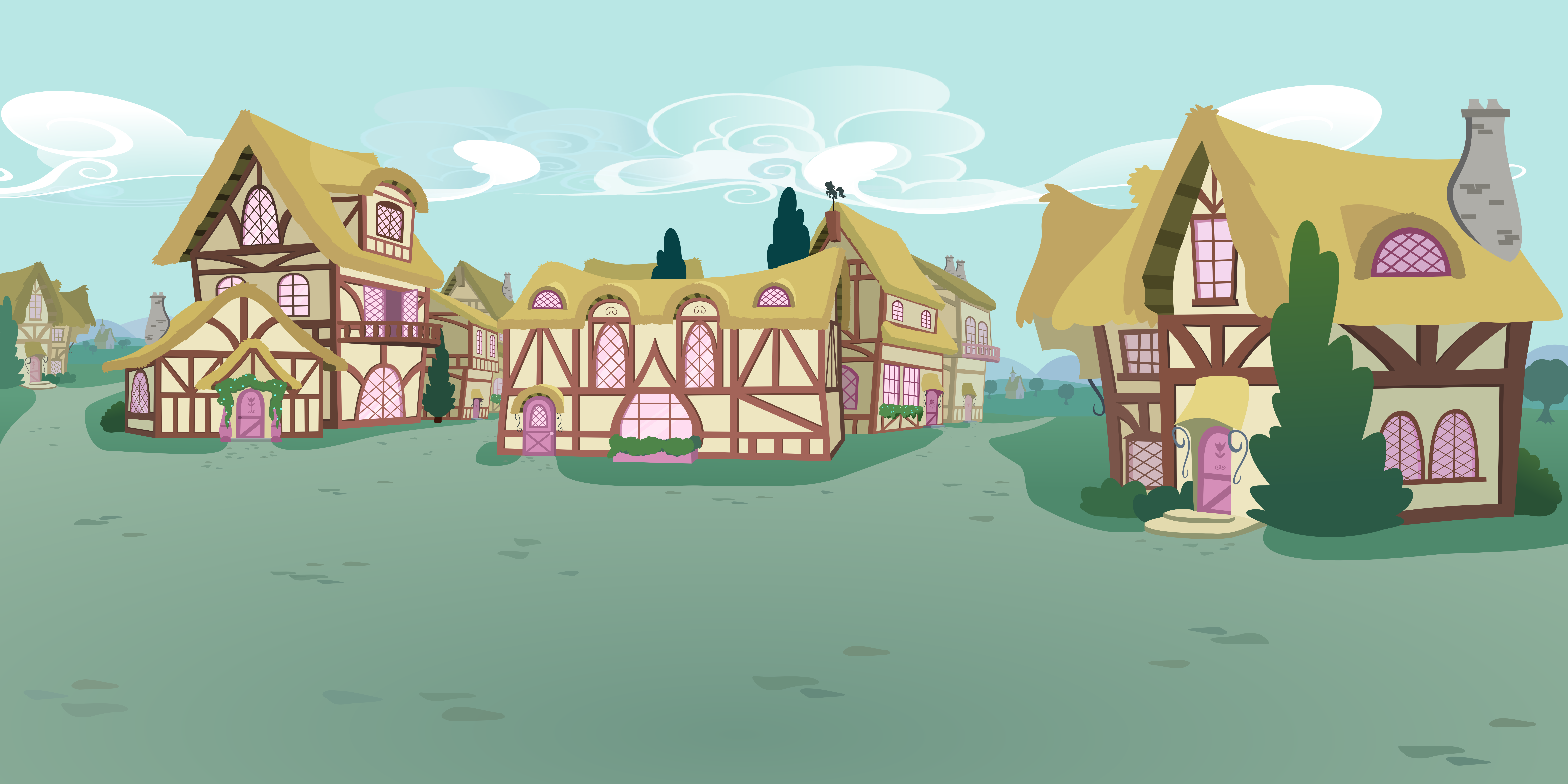 pony ville outskirts