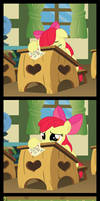 Applebloom 's  - A happy end to hearts and hooves